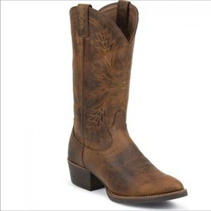 BRAND NEW Justin Boots Cowgirl or cowboy Boots